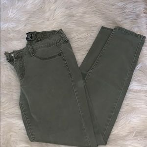 Pants - Army Green Jeggings